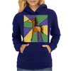 Awesome Folk Art Horse Original Art Womens Hoodie