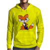 Awesome Foxy Fox Playing Saxophone Mens Hoodie