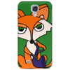 Awesome Foxy Fox Playing Saxophone Phone Case