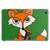 Awesome Foxy Fox Playing Saxophone Tablet