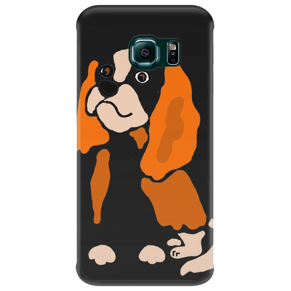 Awesome Fun Artistic Cavalier King Charles Spaniel Art Phone Case