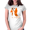 Awesome Fun Artistic Cavalier King Charles Spaniel Art Womens Fitted T-Shirt