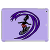 Awesome Funky and Funny Surfer Dude on Wave Art Tablet
