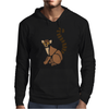 Awesome Funky Funny Lemur Abstract Art Mens Hoodie