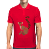 Awesome Funky Funny Lemur Abstract Art Mens Polo