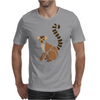 Awesome Funky Funny Lemur Abstract Art Mens T-Shirt