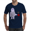 Awesome Funny Abominable Snowman Drinking Coffee Mens T-Shirt