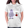 Awesome Funny Abominable Snowman Drinking Coffee Womens Polo