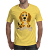 Awesome Funny Abstract Ar Beagle Puppy Dog Mens T-Shirt