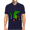 Awesome Funny Alligator Tubing Mens Polo
