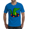 Awesome Funny Alligator Tubing Mens T-Shirt