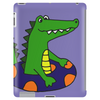 Awesome Funny Alligator Tubing Tablet