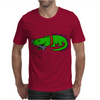 Awesome Funny Alligator with Spiked Collar Mens T-Shirt