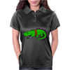 Awesome Funny Alligator with Spiked Collar Womens Polo