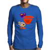 Awesome Funny Artistic Pelican with Sunglasses Mens Long Sleeve T-Shirt