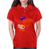 Awesome Funny Artistic Pelican with Sunglasses Womens Polo