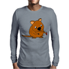 Awesome Funny Australian Quokka Taking Selfie Mens Long Sleeve T-Shirt