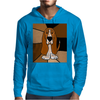 Awesome Funny Basset Hound Abstract Art Mens Hoodie