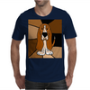 Awesome Funny Basset Hound Abstract Art Mens T-Shirt