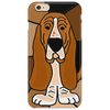 Awesome Funny Basset Hound Abstract Art Phone Case