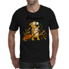 Awesome Funny Beaver and Dam Cartoon Mens T-Shirt