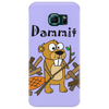Awesome Funny Beaver and Dam Cartoon Phone Case