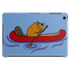 Awesome Funny Beaver in Red Canoe Tablet