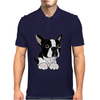 Awesome Funny Boston Terrier Puppy Dog Art Mens Polo