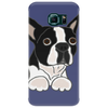 Awesome Funny Boston Terrier Puppy Dog Art Phone Case