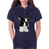 Awesome Funny Boston Terrier Puppy Dog Art Womens Polo