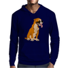 Awesome Funny Boxer Dog Original Art Mens Hoodie