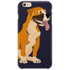 Awesome Funny Boxer Dog Original Art Phone Case