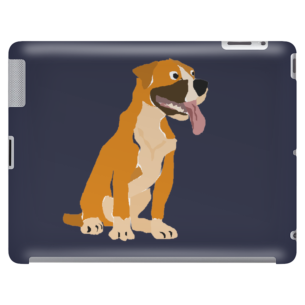 Awesome Funny Boxer Dog Original Art Tablet