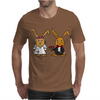 Awesome Funny Bride and Groom Rabbit Cartoon Mens T-Shirt