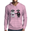 Awesome Funny Bride and Groom Sheep Wedding Cartoon Mens Hoodie