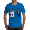 Awesome Funny Bride and Groom Sheep Wedding Cartoon Mens T-Shirt