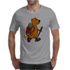 Awesome Funny Brown Bear Hiker Mens T-Shirt