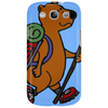 Awesome Funny Brown Bear Hiker Phone Case