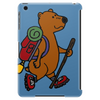 Awesome Funny Brown Bear Hiker Tablet