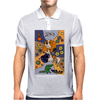 Awesome Funny Cavalier king Charles Spaniel Dog Abstract Art Mens Polo