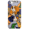 Awesome Funny Cavalier king Charles Spaniel Dog Abstract Art Phone Case