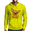 Awesome Funny Chihuahua Puppy Art Mens Hoodie