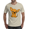 Awesome Funny Chihuahua Puppy Art Mens T-Shirt