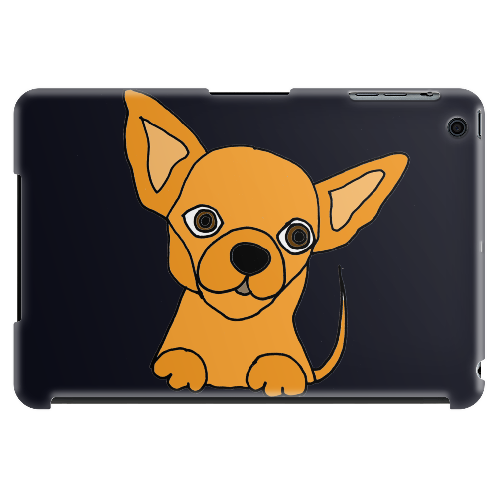 Awesome Funny Chihuahua Puppy Art Tablet