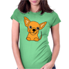 Awesome Funny Chihuahua Puppy Art Womens Fitted T-Shirt