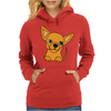 Awesome Funny Chihuahua Puppy Art Womens Hoodie