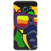 Awesome Funny Colorful Elephant in Sunglasses Art Phone Case