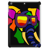Awesome Funny Colorful Elephant in Sunglasses Art Tablet