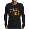 Awesome Funny Cute Assorted Pets Abstract Art Mens Long Sleeve T-Shirt