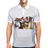 Awesome Funny Cute Assorted Pets Abstract Art Mens Polo